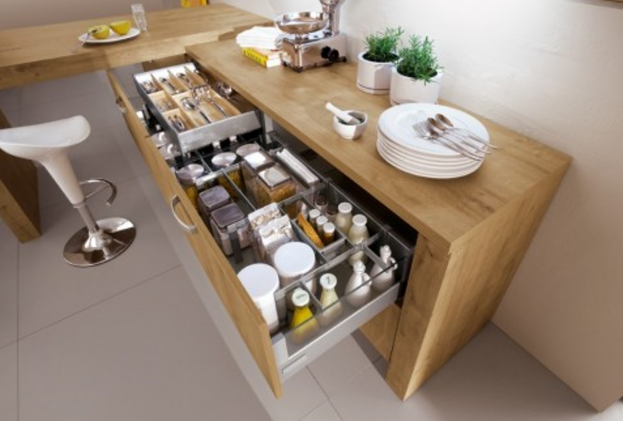meuble cuisine casserolier meuble