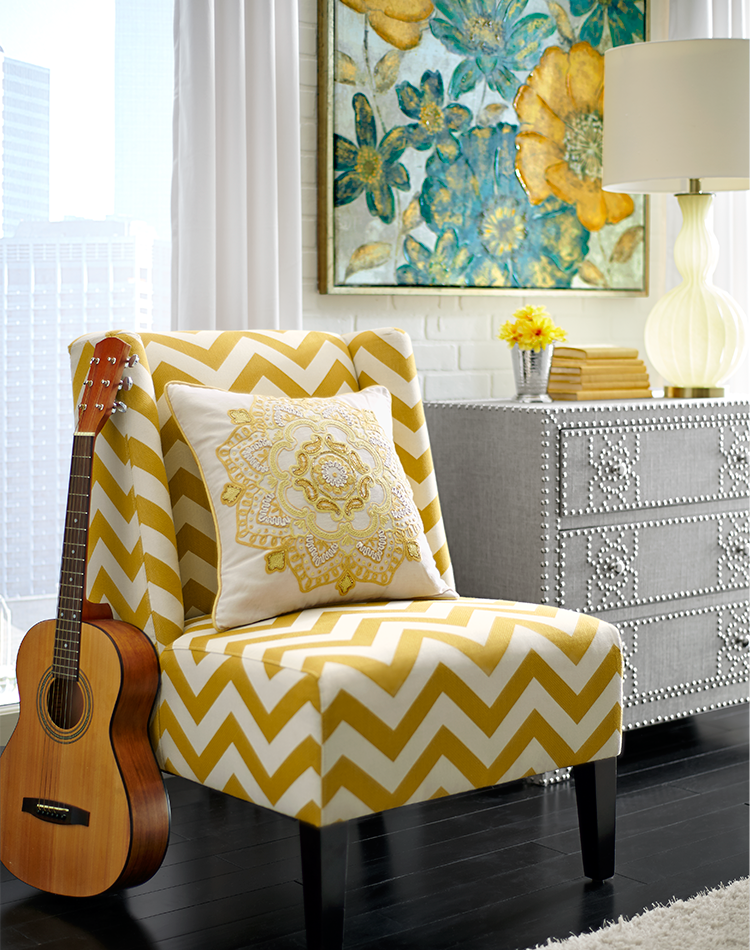 We see a pattern here: Pull some of your favorite room colors into ...