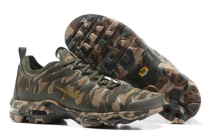 Cheap Nike Air Max Plus Tn Ultra Army Green Camouflage Mens/Womens Running  Shoes Sneakers 898015 027