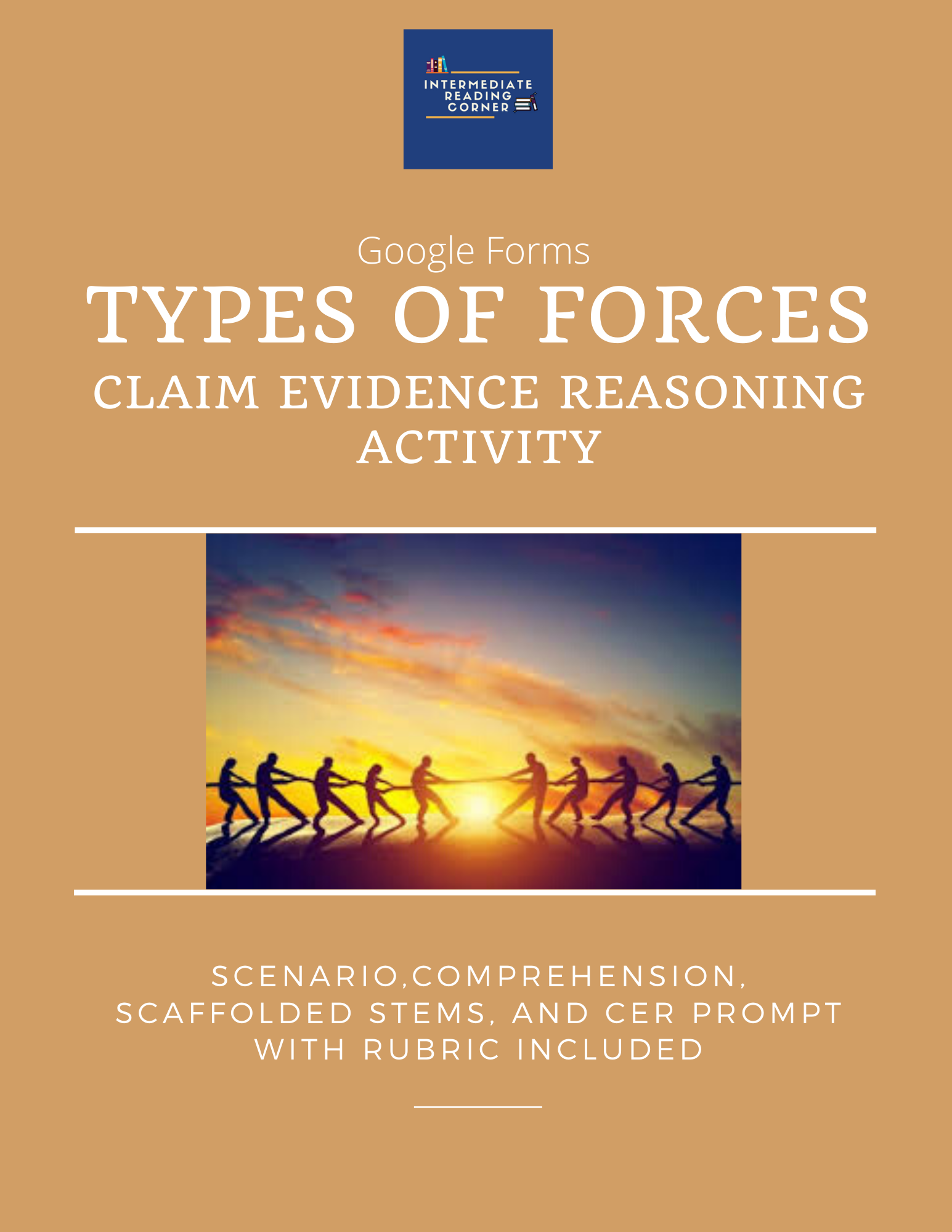Types Of Forces Claim Evidence Reasoning Pack