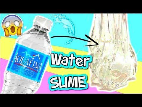 Diy Water Slime Wasser Schleim Ohne Kleber I No Glue Water Slime I