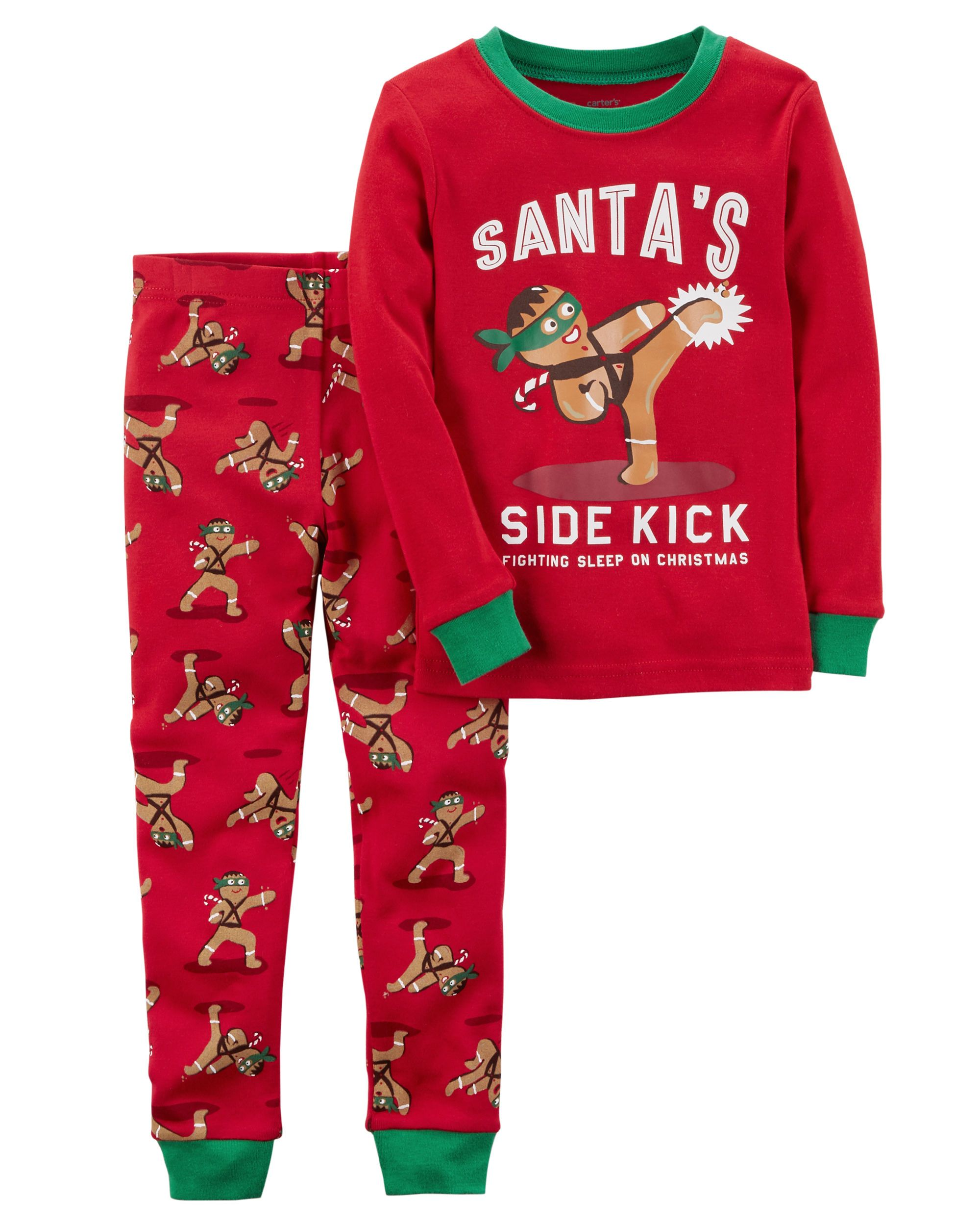 7cd683ffe25c 2-Piece Gingerbread Snug Fit Cotton PJs from Carters.com. Shop ...