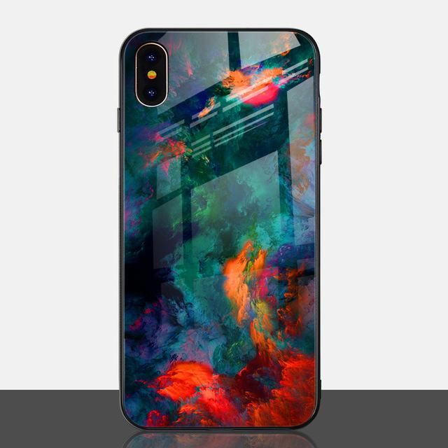 Cool Marble Phone Case for iPhone X Xs Max XR Phone
