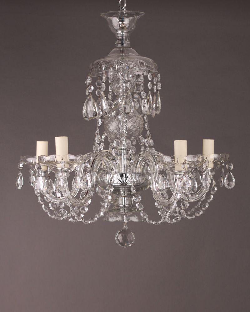 5 branch bohemian antique crystal chandelier chandeliers and bohemian 5 branch bohemian antique crystal chandelier 157500 arubaitofo Gallery