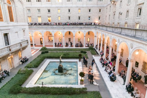 Boston Public Library Wedding.Chic Boston Public Library Wedding Whimsical Wedding Ideas