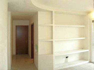 Cartongesso drywall pinterest parete attrezzata cartongesso e soggiorno - Mobili cartongesso soggiorno ...