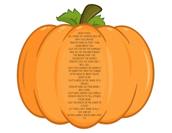 Pumpkin Prayer Coloring Page Fall Childrens Ministry Curriculum - Pumpkin-prayer-coloring-page