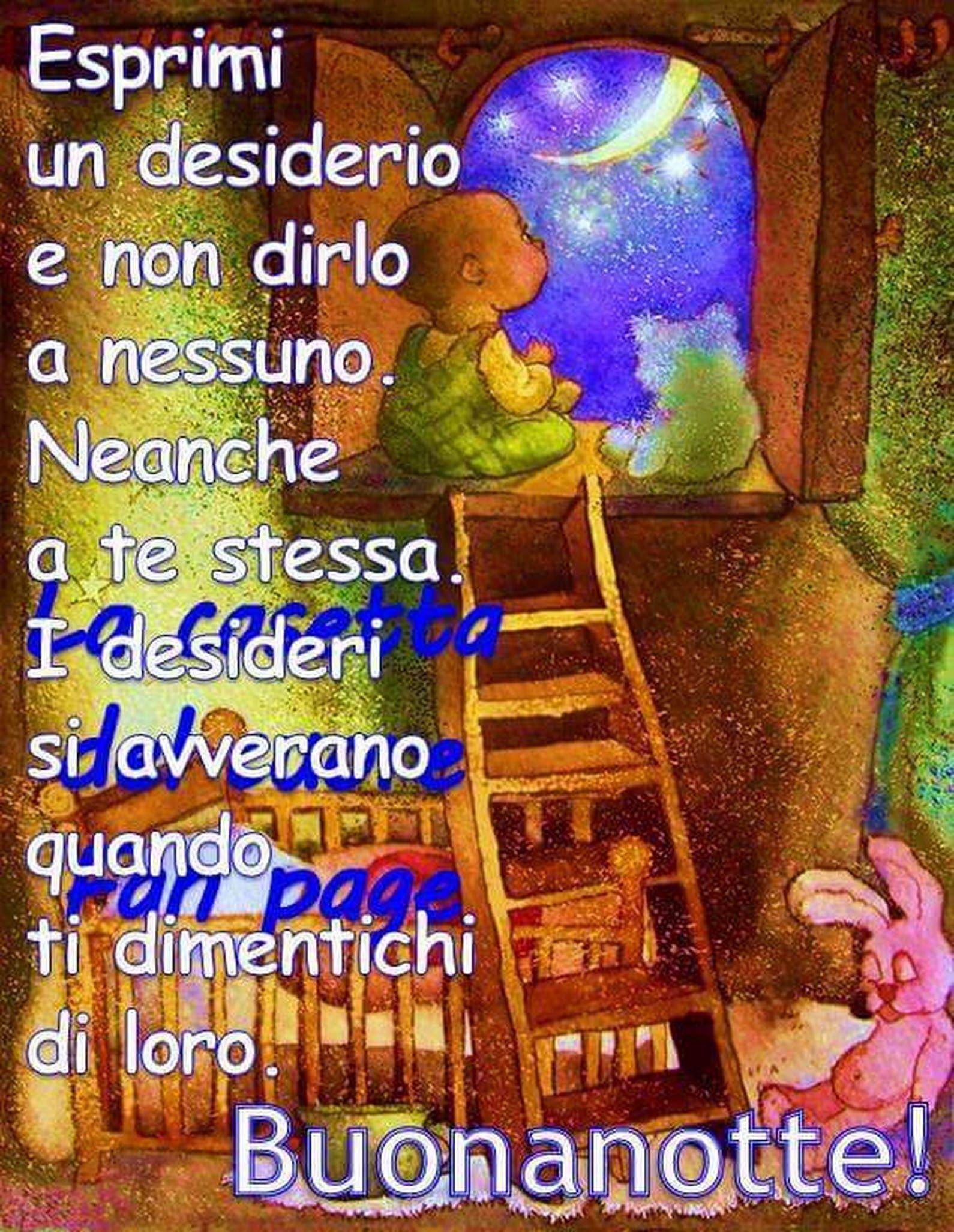 Dolcissima Buonanotte E Sogni D Oro A Tutti A Domani Alessia