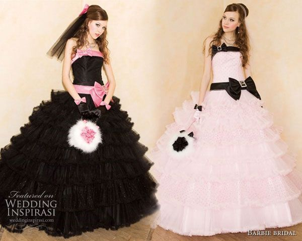 Sweet Wedding Dresses from Barbie Bridal | Barbie bridal, Gowns and ...