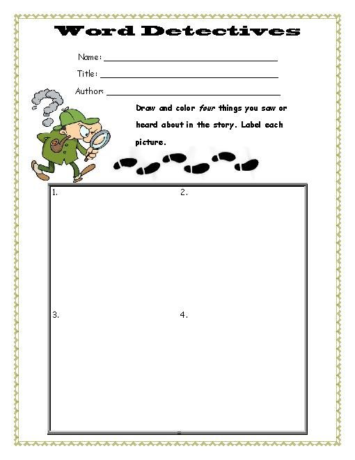 This Worksheet Would Be Used By Students During Lit Circle