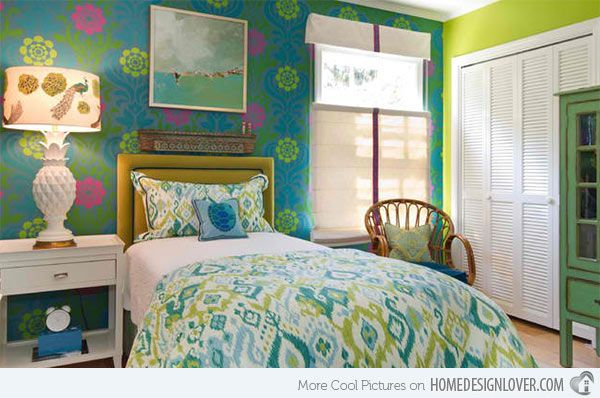 15 Blue And Lime Green Bedroom Design Ideas