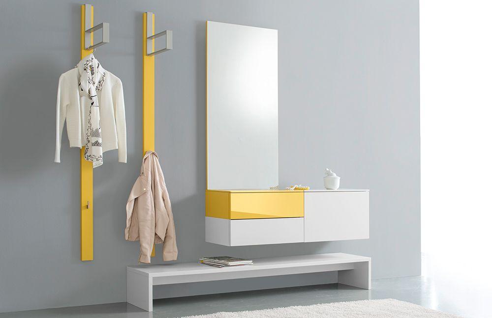Wagner Garderoben ted von sudbrock - garderobe 05 in superlemon/ blütenweiß in 2018