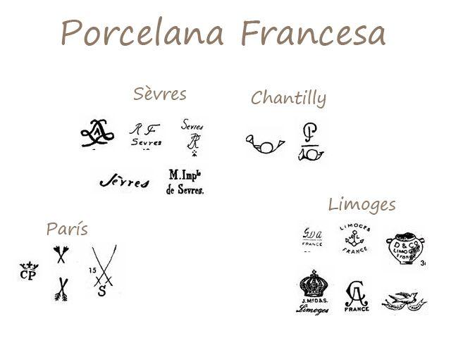 Ferraz49 muebles en dep sito identificar los sellos en for Marcas de porcelana