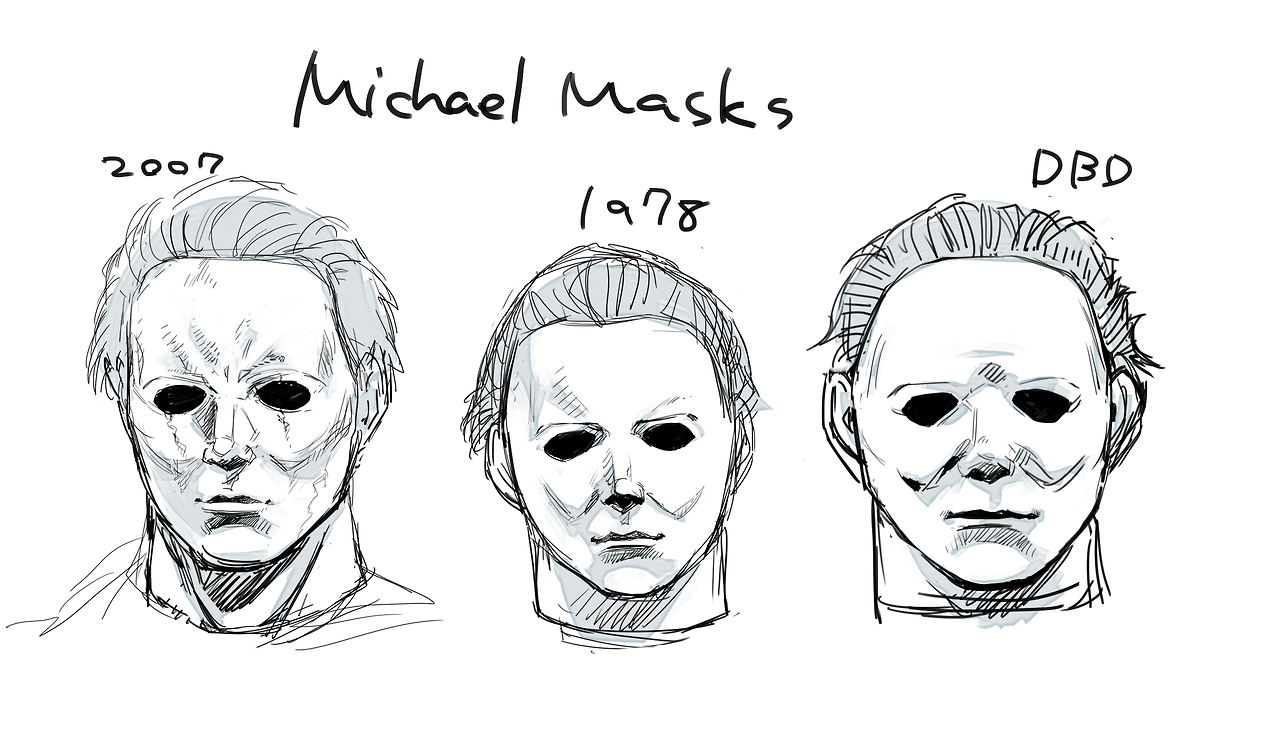 Modification Of Myer S Face In Course Of Time Horror Movies Memes Halloween Film Horror Movie Characters
