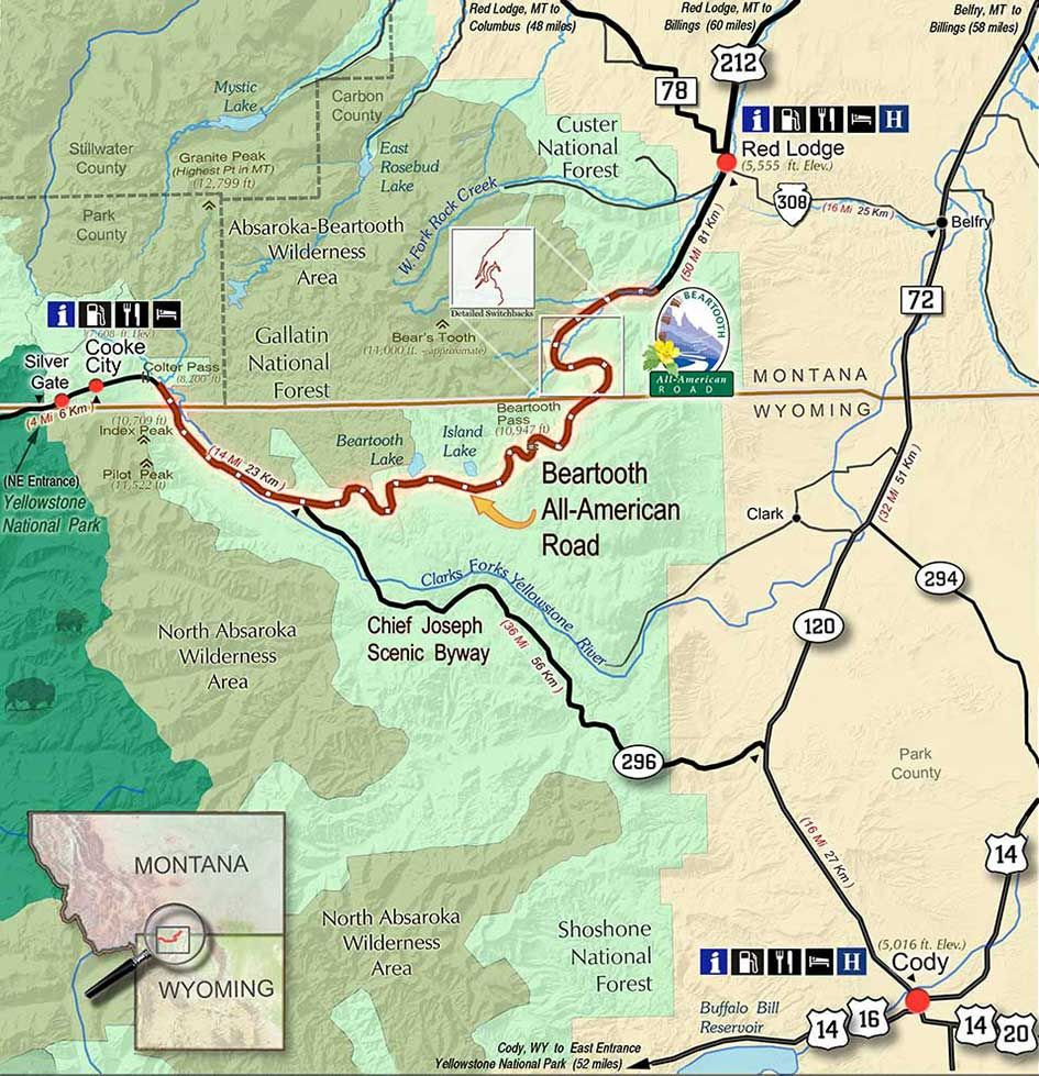 Planning A Road Trip On The Beartooth Highway Road Trip Planning Montana Road Trips Yellowstone Trip