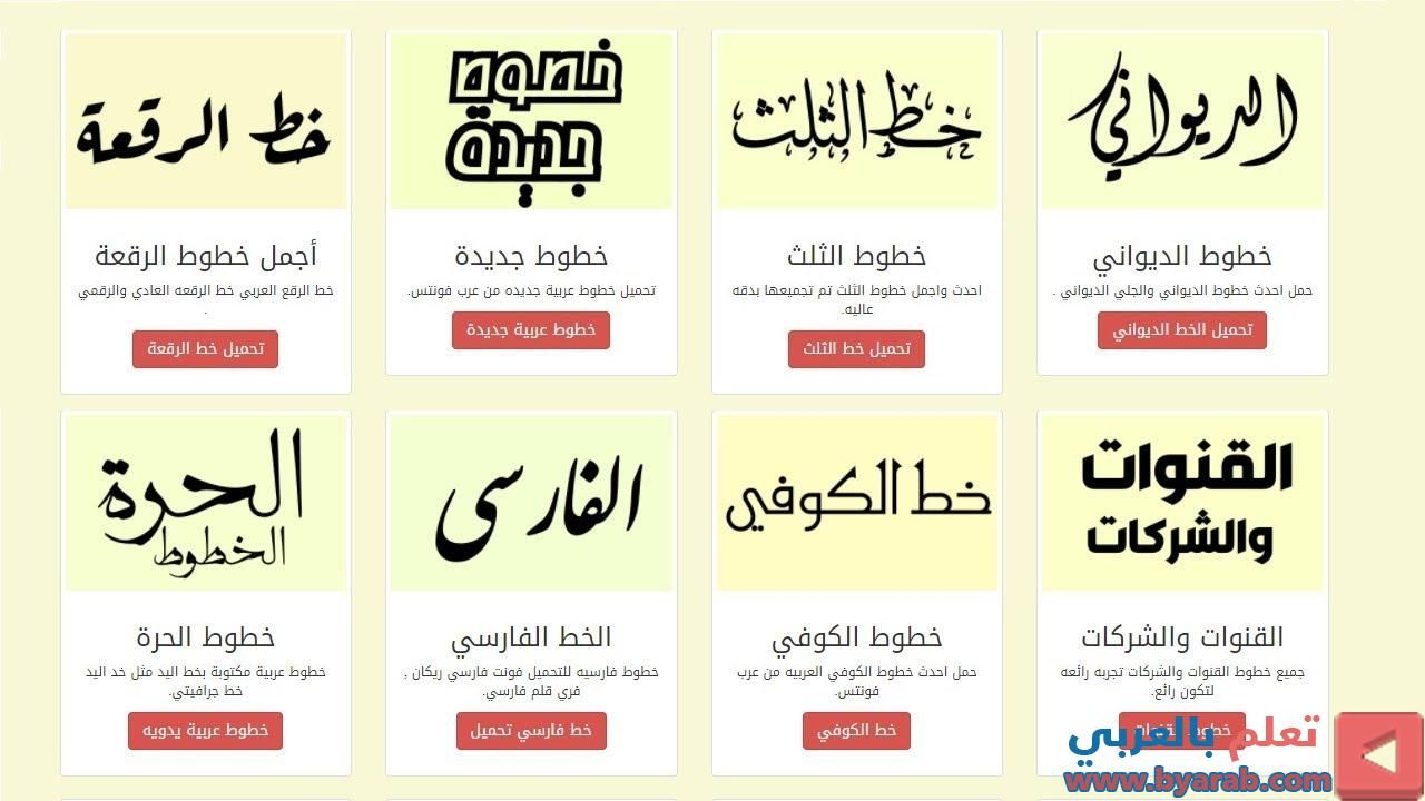 أكبر موقع خطوط عربية بالعالم والتحميل مجانا The Largest Arabic Fonts In The World And Free Do Powerpoint Templates Arabic Font Lull
