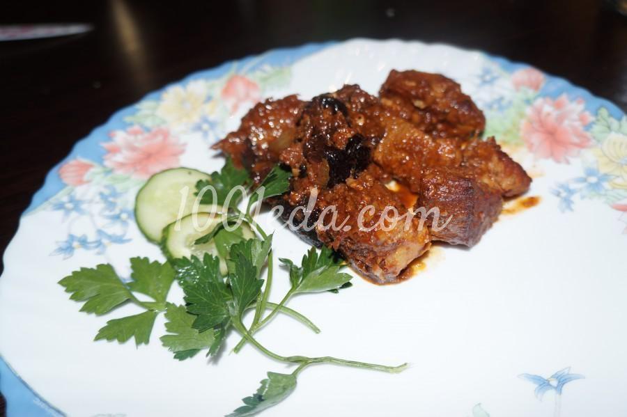 Свинина с черносливом и грецким орехом | Свинина, Кастрюли