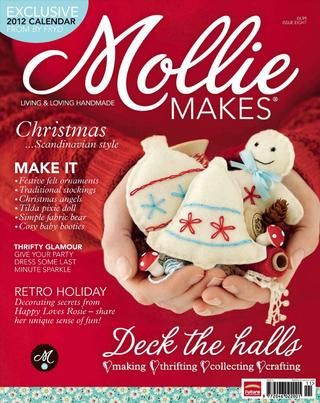 Mollie makes issue eight 2011