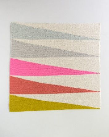 Colorful Wedges Baby Blanket | Purl Soho - Create | Strickideen ...