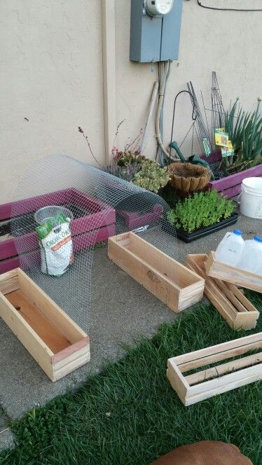 Double Crate Dome Planters 2feet By 5feet Chicken Wire Attached