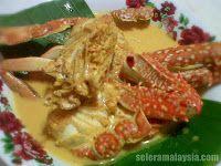 ketam masak lemak selera malaysia food blog recipes travel and restaurants recipes malaysian food food