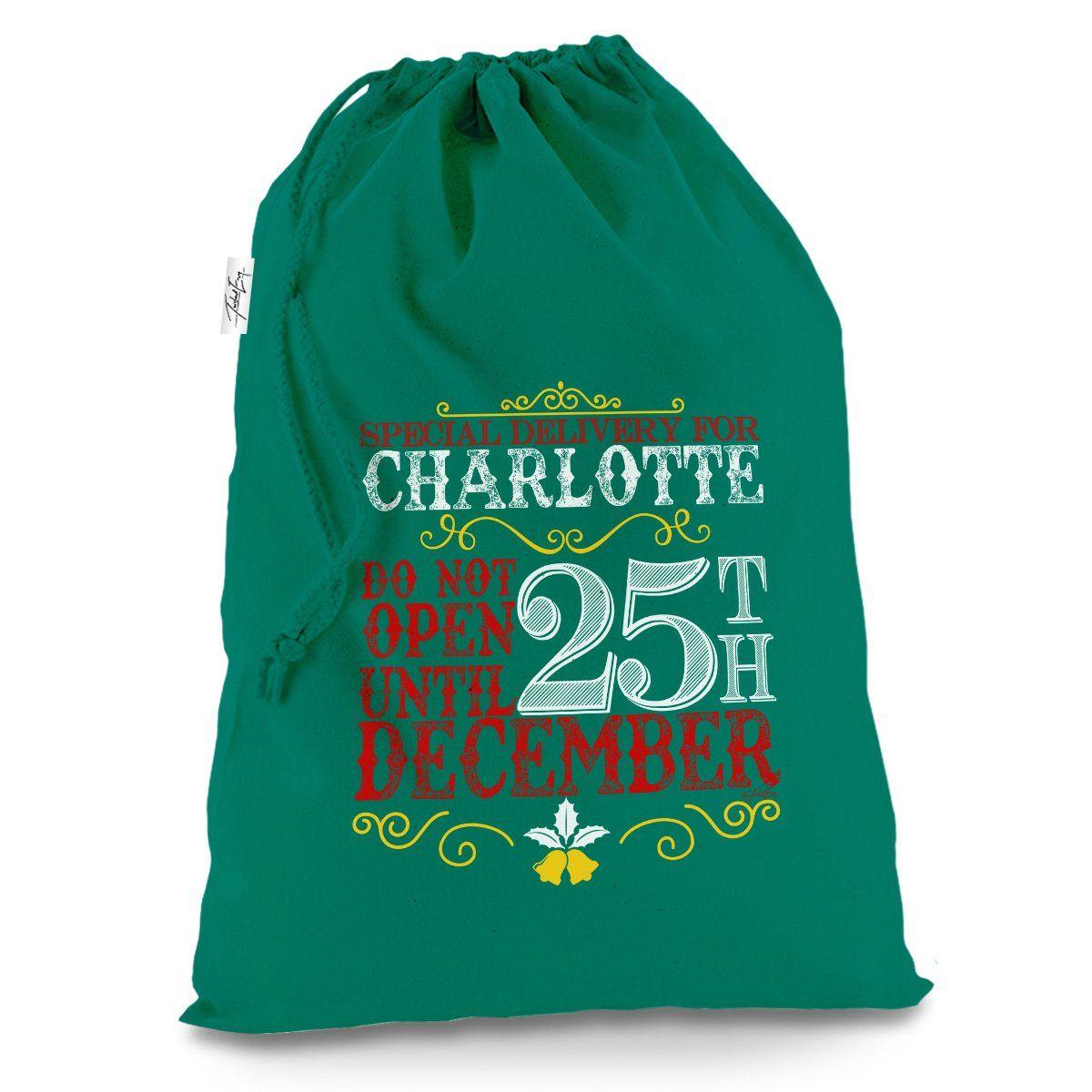 Do not open till christmas gift bags