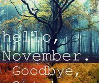Image result for goodbye october hello november #hellonovemberwallpaper Image result for goodbye october hello november #hellonovemberwallpaper