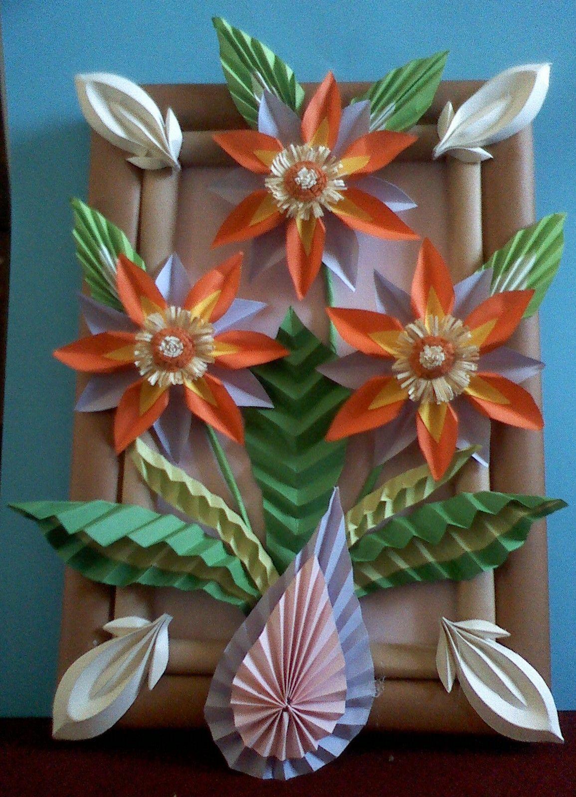 Kwiaty Z Papieru Ikebana Prace Plastyczne Dariusz Zolynski Flowers Paper Paper Flowers Orgiami Kiriga Paper Flower Crafts Flower Crafts Paper Flowers