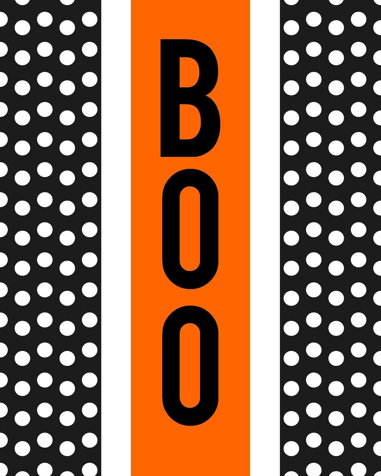 Boo & Eek Printables