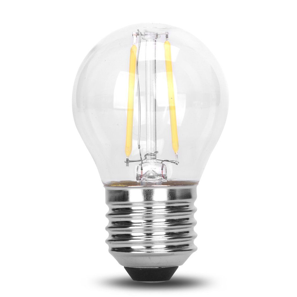 Dc 12v 36v 2w Led G45 Filament Cob Light Bulb Outdoor Landscape Rope Lamp Light Bulb Solar Light Bulb Rope Lamp
