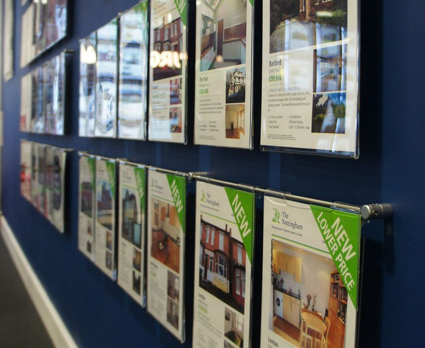 Estate Agent Display Solutions Letting Agency Window