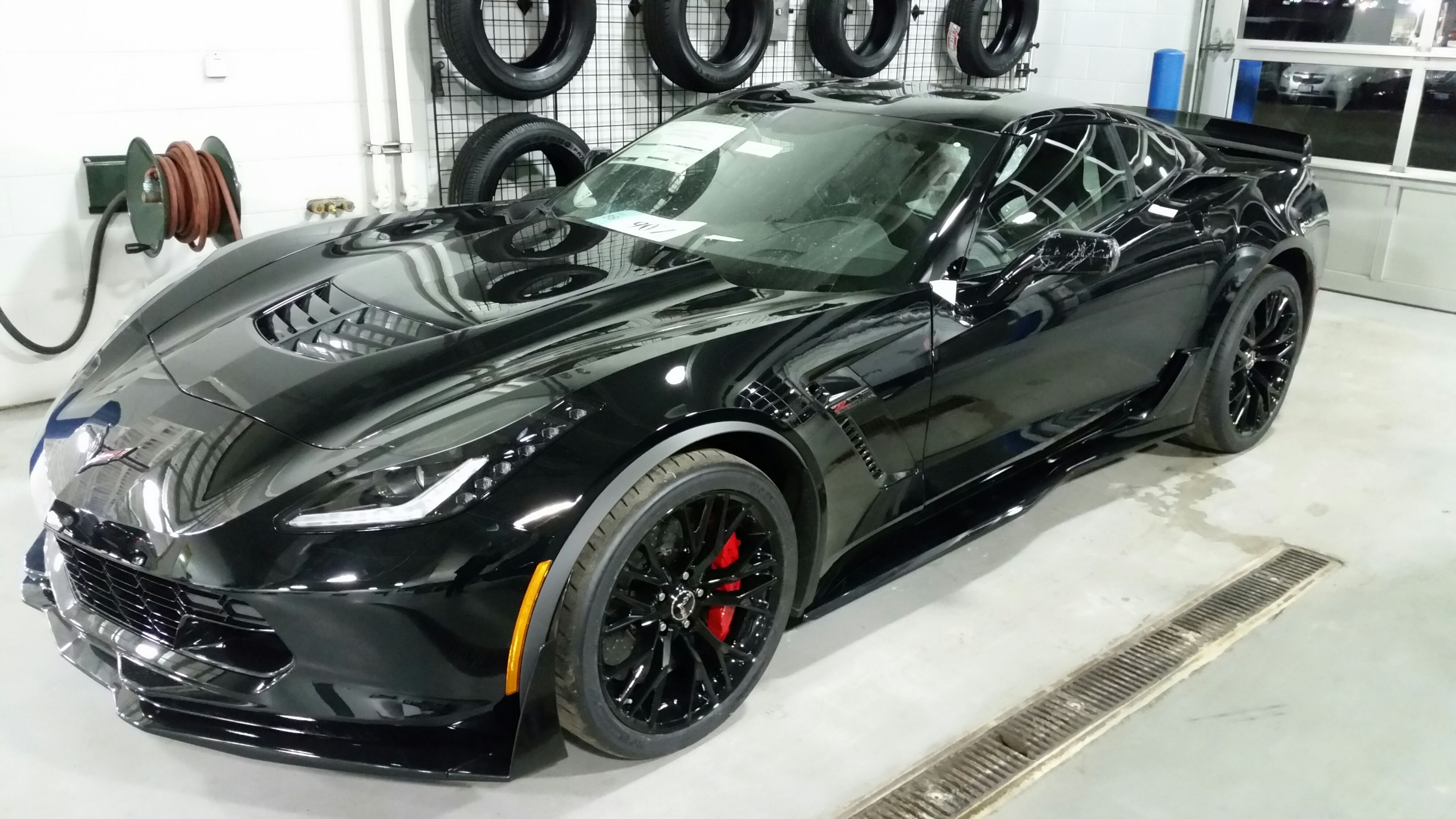 When Your Car Looks Like A Batmobile Baderie 2016 Corvette Z06 Colors