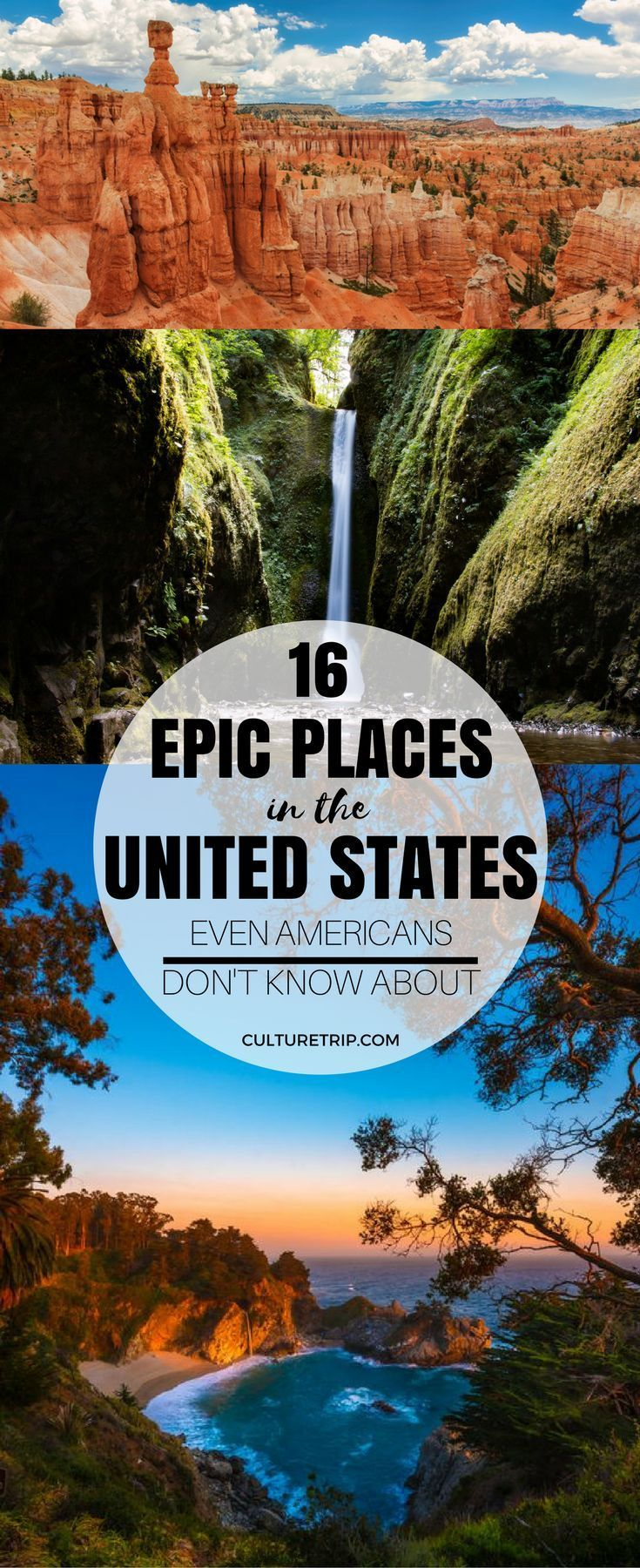 16 Epic Places in the United States Even Americans Don't Know About -   19 travel destinations United States adventure