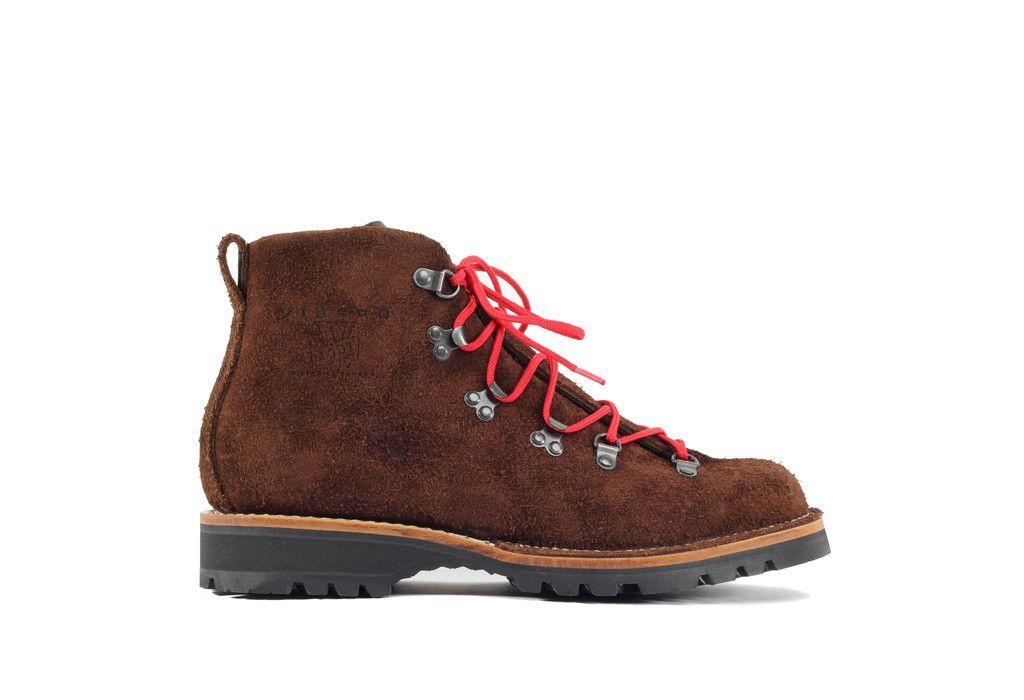 62ea768b5ae Hiker Mocha Oil Tan Roughout   Kicks   Viberg boots, Hiking boots, Boots