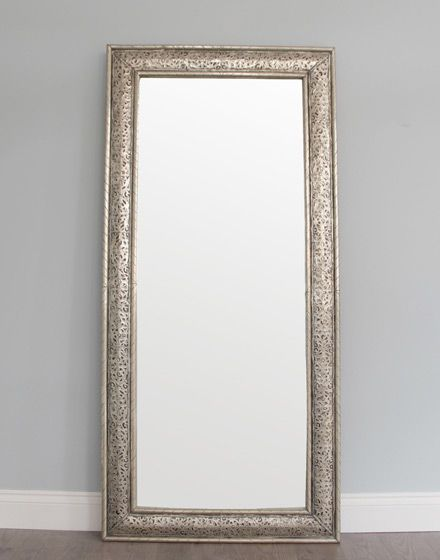long white metal moroccan mirror arabic style great