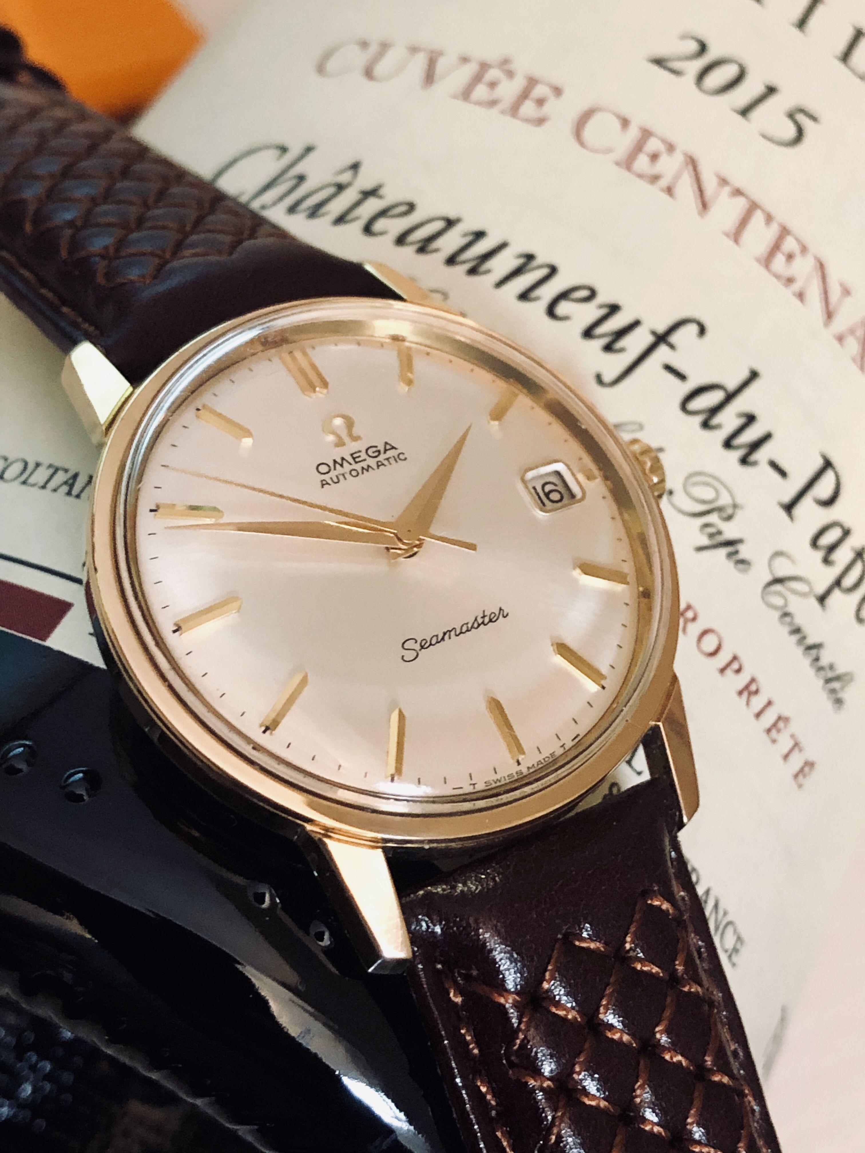 Omega Mans Vintage Wristwatch Orologio