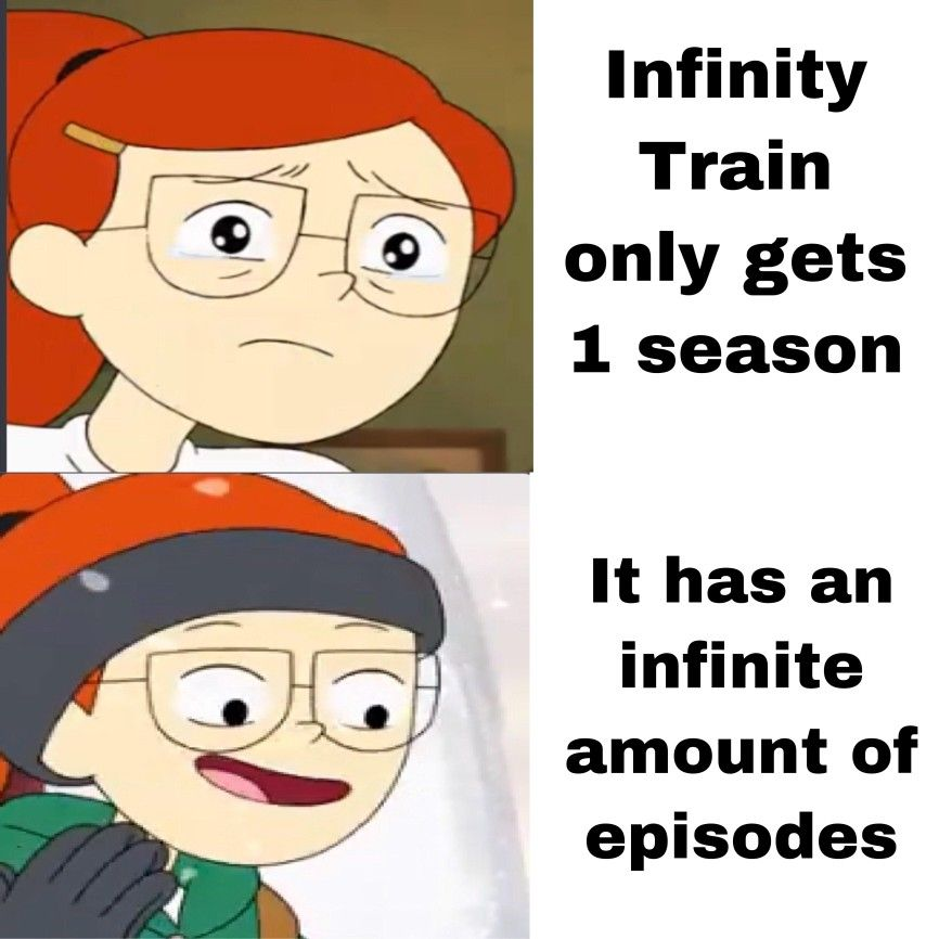 Infinity train meme from reddit Training meme, Train