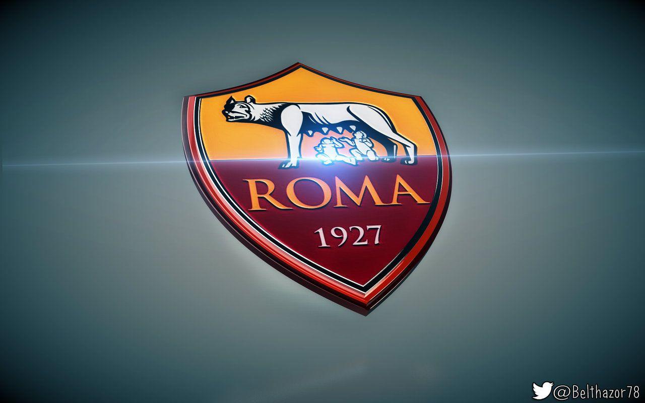 A S Roma 3d Logo 2016 3d Logo Logos Roma
