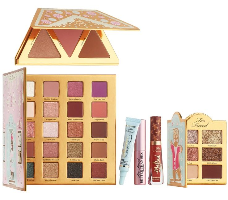 Risultati immagini per too faced Gingerbread House Party