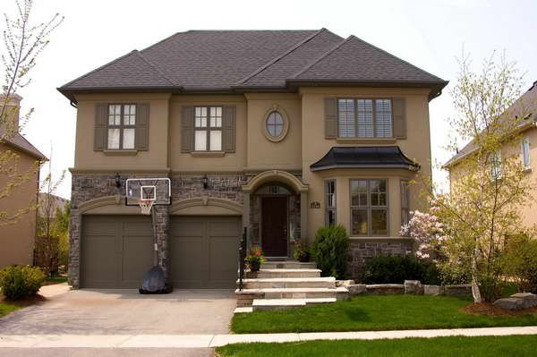 Color Of Houses stone for houses with wall color brown | exteriors | pinterest