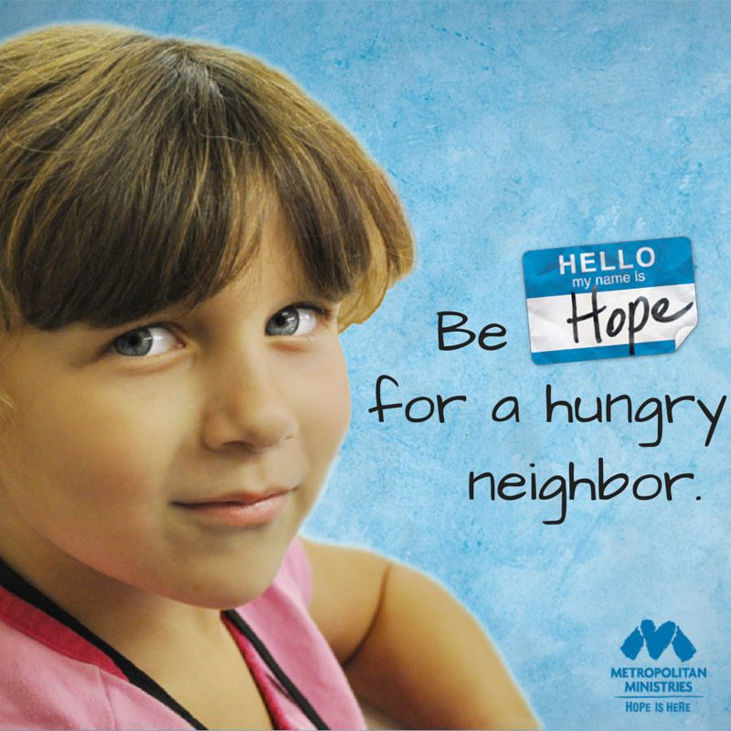 Go to our website and #BeHope metromin.org/donate