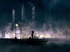 300枚超 風景 ファンタジックで綺麗な二次イラストまとめ 高画質保存版 Naver まとめ Anime Scenery Wallpaper Rainy City Anime City