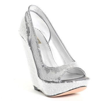 Silver Wedge Shoes Help Project Wedding Forums 350x350
