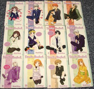 Fruits Basket Manga Series By Natsuki Takaya