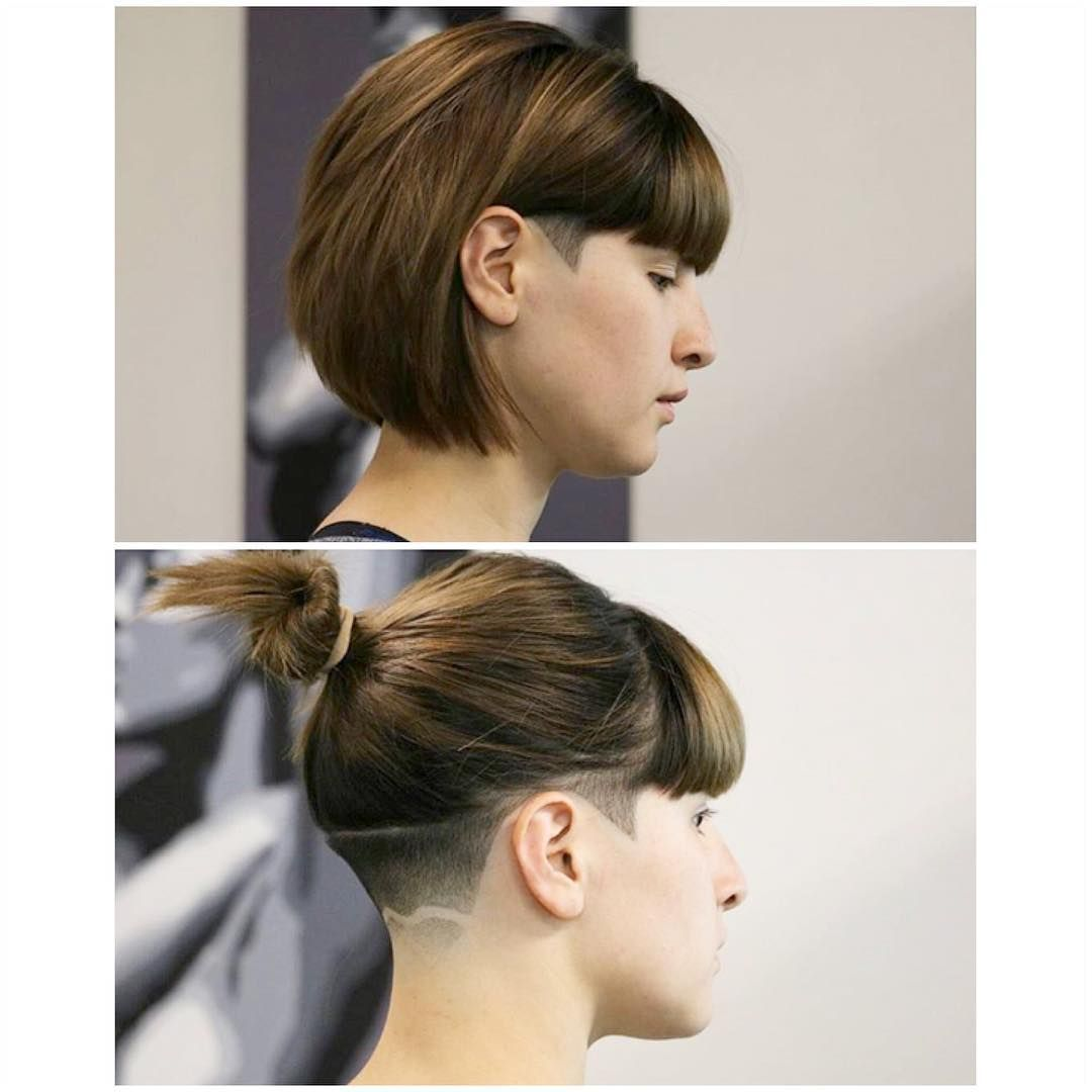 29+ Undercut womens haircut ponytail inspirations