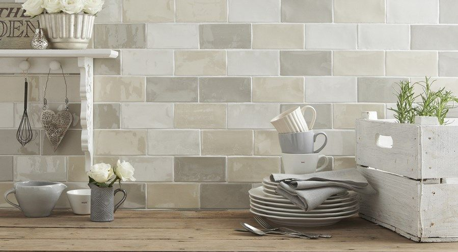 Craquele Kitchen At Tile Mountain Free Sample Beautiful Kitchen