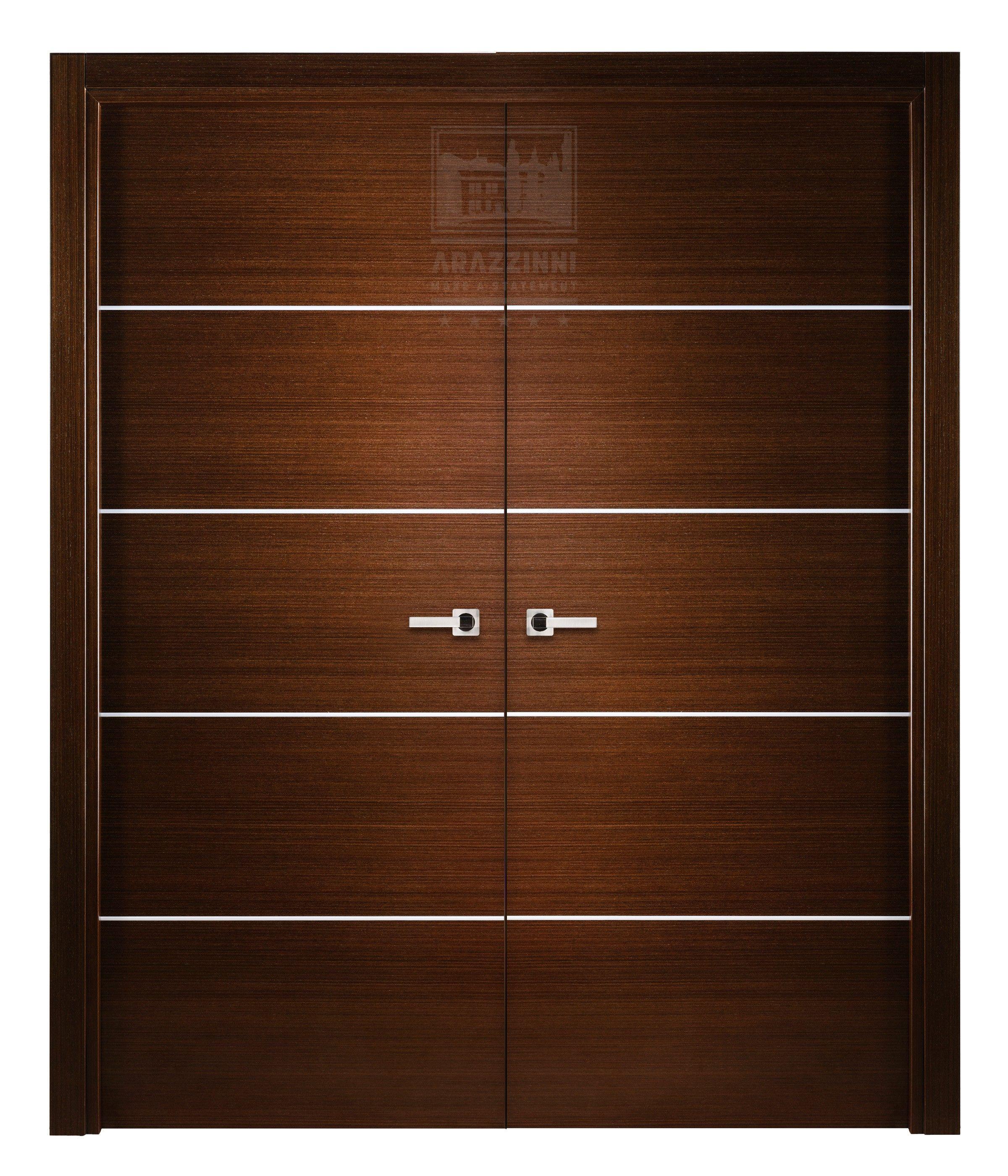 Popular Arazzinni Mia Interior Double Door Wenge