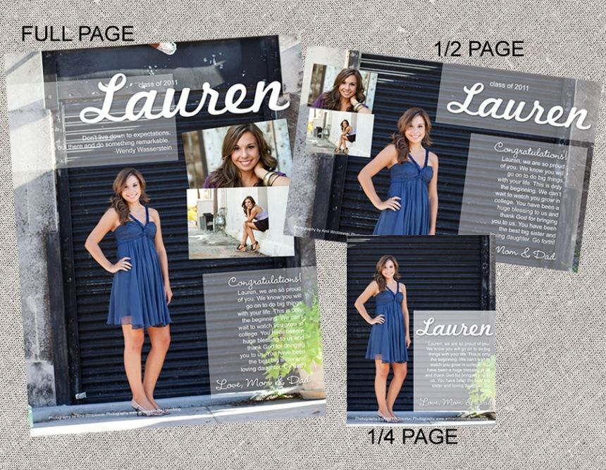 Yearbook page layout #12 This would also be a really cool template ...