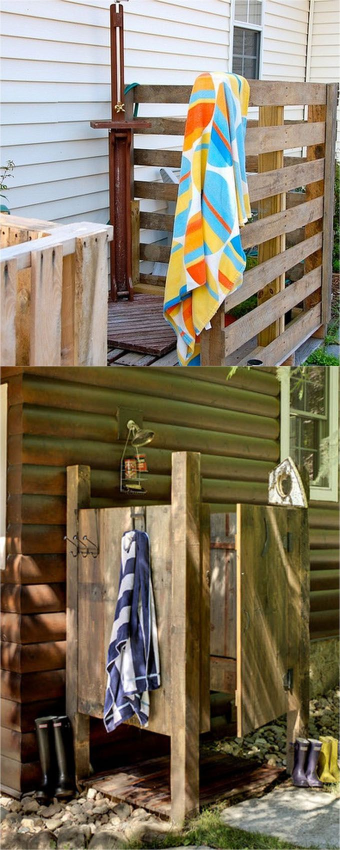 32 Creative Diy Outdoor Showers How To Build Enclosures With Simple Materials Best Shower Fixtures Designore