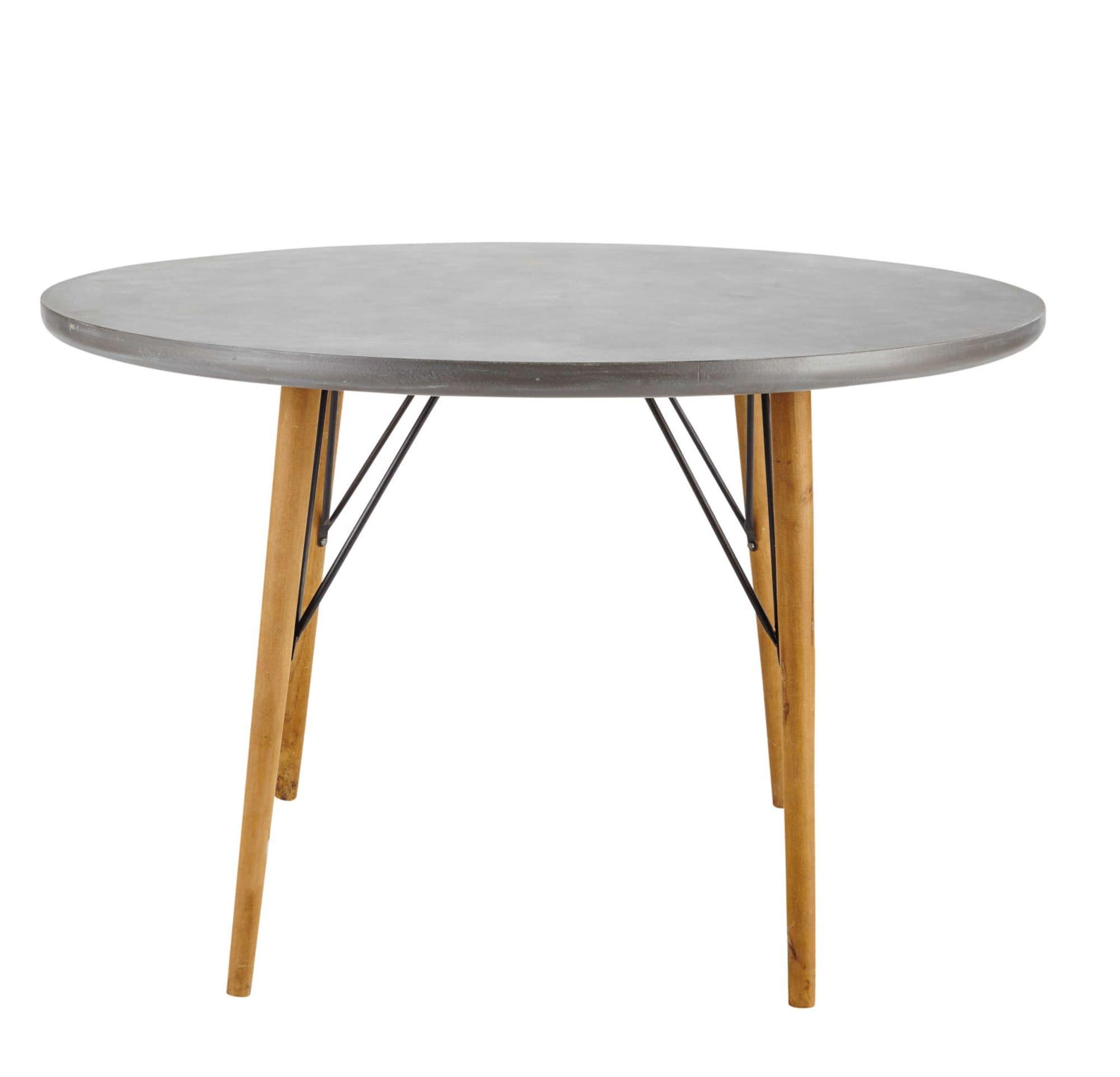 Tavolo rotondo per sala da pranzo 4 persone 120 cm (mit ...